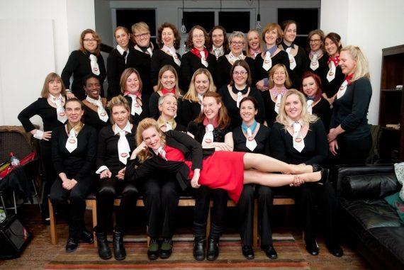 Elizabeth Renihan and the Natural Voices Choir
